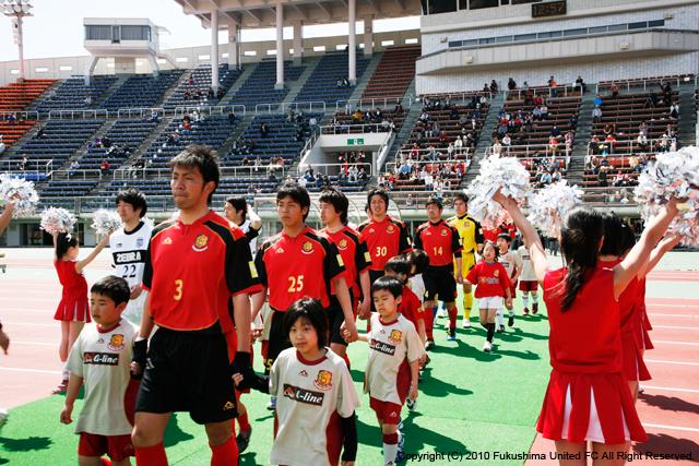 第3節 vs.盛岡ゼブラ 2010.04.25
