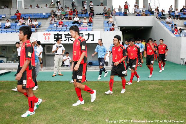 第90回天皇杯全日本サッカー選手権大会1回戦 VS ソニー仙台 2010.09.03