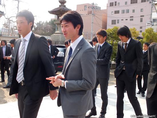 2012シーズン必勝祈願 2012.04.05