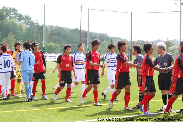 第1節 vs.秋田FCカンビアーレ 2011.05.15