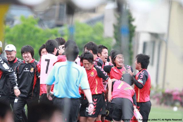 第2節 vs. 盛岡ゼブラ 2011.05.22