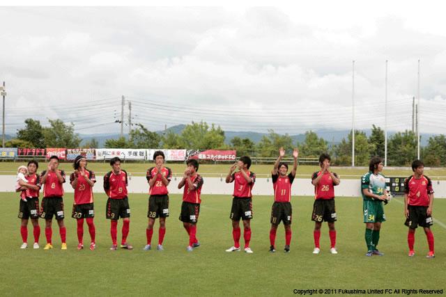 第6節 vs. NECトーキンFC 2011.06.26