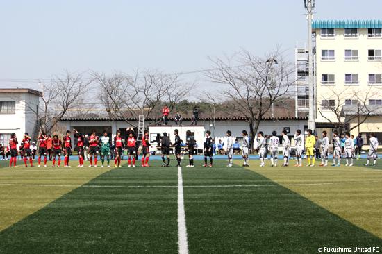 開幕戦vs. 富士クラブ2003 2012.04.15