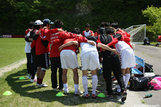第4節 vs. 塩釜NTFCヴィーゼ 2012.05.13 撮影:時崎汎 氏