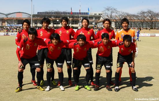 第15回日本フットボールリーグ第2節 vs. 横河武蔵野FC 2013.03.17 撮影:時崎汎 氏