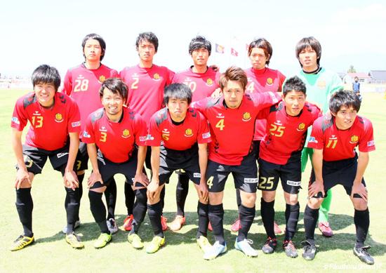 第15回日本フットボールリーグ第11節 vs.ツエーゲン金沢 2013.05.12 撮影:時崎汎 氏